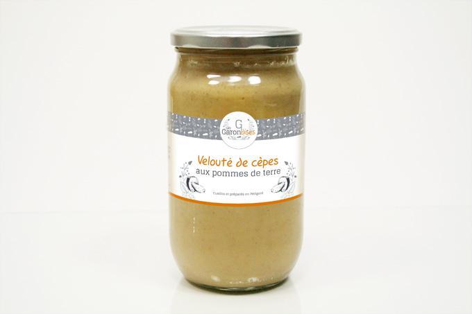 image de Velouté de cèpes aux pommes de terre